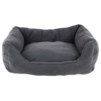 Dog Bed - Comfort Line Grey Fleece - FurMinded