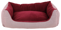 Dog Bed - Comfort Line Red Fleece - FurMinded