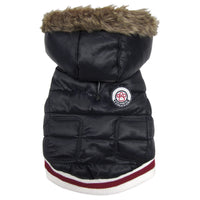 Dog Coat - foufoudog Expedition Dog Parka in Black - FurMinded