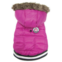 Dog Coat - foufoudog Expedition Dog Parka in Pink - FurMinded