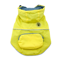 Dog Raincoat - foufoudog Rainy Day Dog Raincoat with Travel Pouch in Yellow - FurMinded
