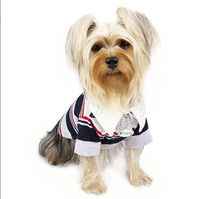 Dog Shirt - Adorable 4-colored Striped Polo Dog Shirt for Him - FurMinded