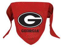 Georgia Bulldogs Dog Bandana - FurMinded