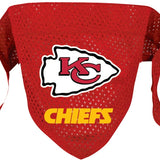 Kansas City Chiefs Dog Bandana - FurMinded