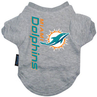 Miami Dolphins Dog T-Shirt - FurMinded