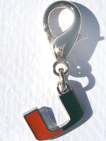 Miami Hurricanes Collar Charm - FurMinded