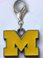Michigan Wolverines Collar Charm - FurMinded