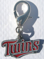 MLB Logo - Minnesota Twins Dog Collar Charm - FurMinded
