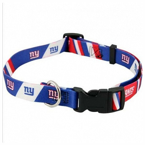 New York Giants Dog Collar - FurMinded