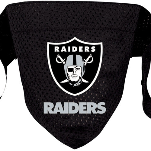Oakland Raiders Dog Bandana - FurMinded