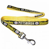 Pittsburgh Steelers Dog Leash - Ribbon - FurMinded