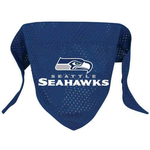 Seattle Seahawks Dog Bandana - FurMinded