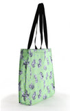 Cute Kittens Green Tote Bag - FurMinded