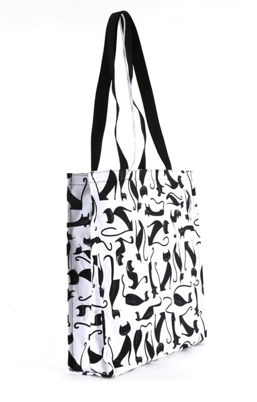 Elegant Cat Tote Bag - FurMinded