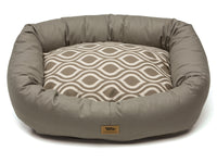West Paw - Bumper Pet Bed w/Cotton (Walnut/Walnut Groove)