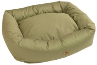 West Paw - Bumper Pet Bed Organic Cotton (Basil) - FurMinded
