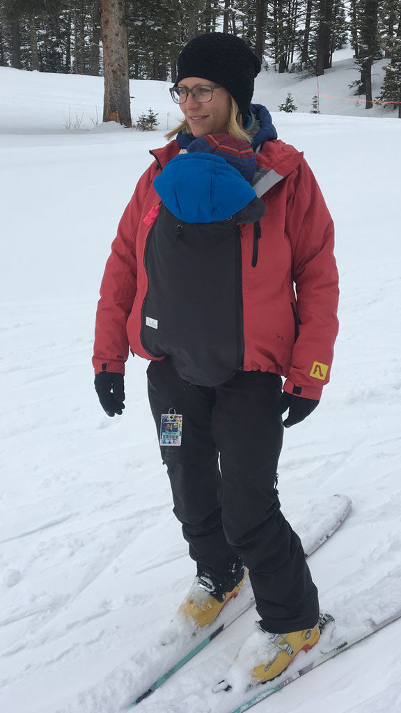 Skiing with Kids is Easier with a Shellter Coat Extender
