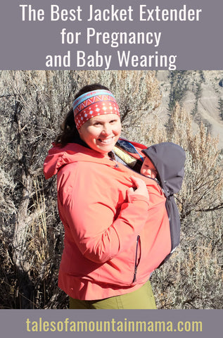 Best Pregnancy and Baby Wearing Jacket Extension