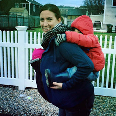 Pregnancy and Babywearing Coat Extender