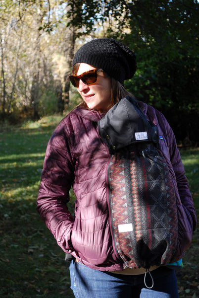 Patterned Shellter Coat Extender with FREE Hood