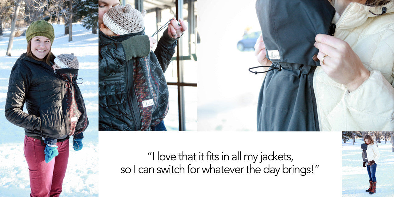 Maternity and Babywearing Coat Extender