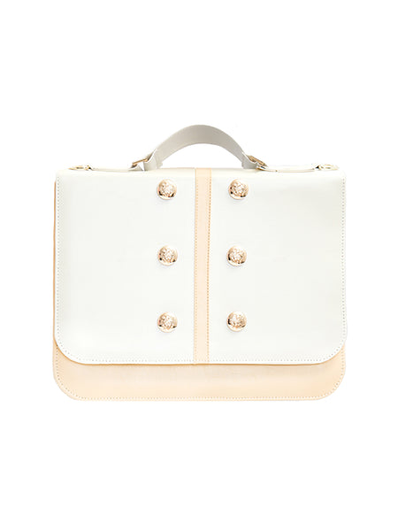 Classy Beige Handmade Briefcase  | Maletín Color Beige