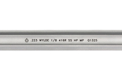 Ballistic Advantage 16 inch 223 Wylde SPR Fluted Stainless Steel Midlength AR15 Barrel Close