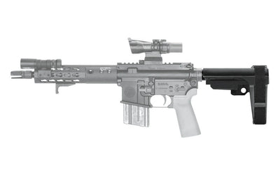SB Tactical SBA3 AR15 Pistol Brace Collapsed Left