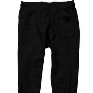 Simple Black Logo Joggers