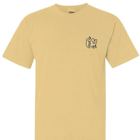 Butter Watercolor Short Sleeve Tee