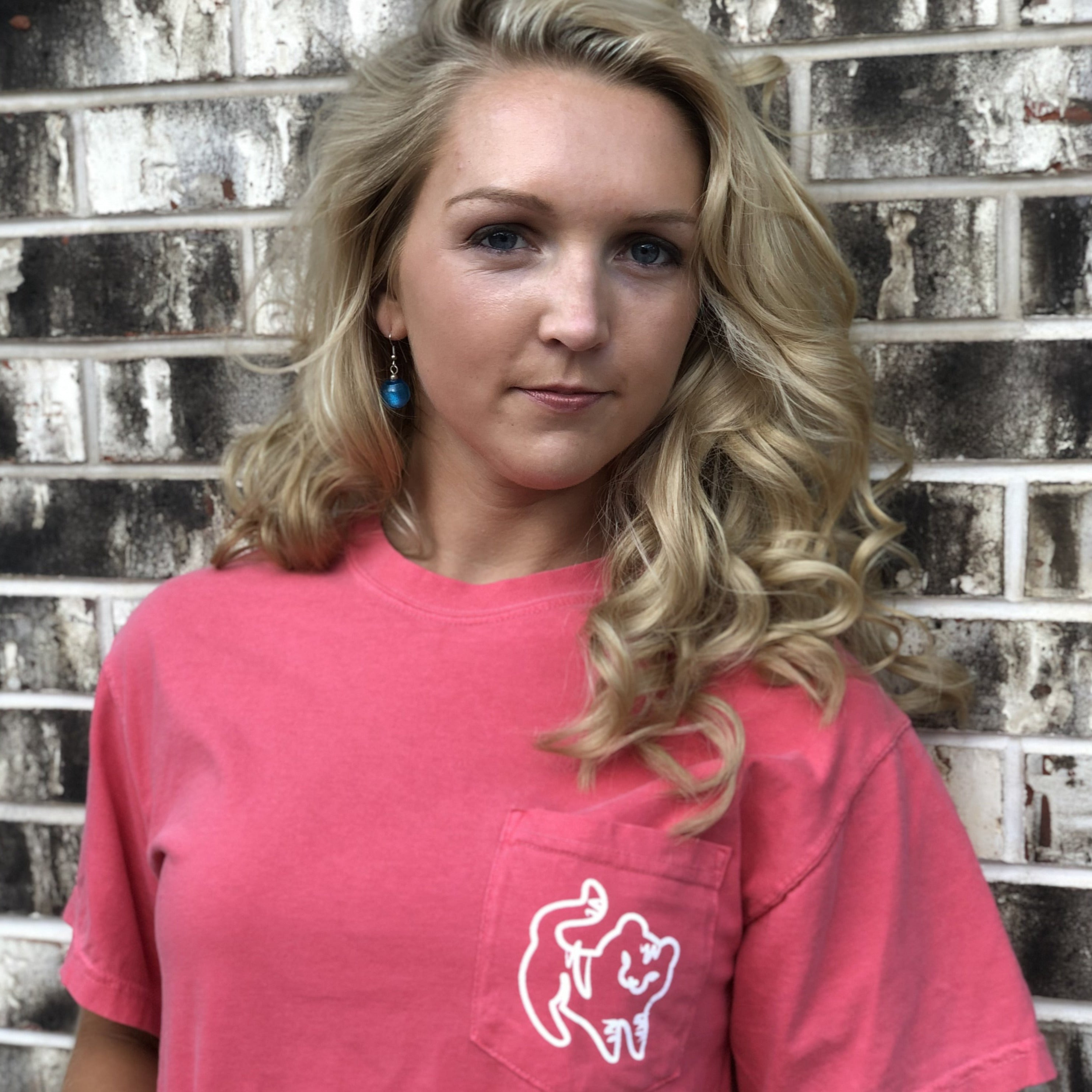 Bubblegum Short Sleeve Pocket Tee
