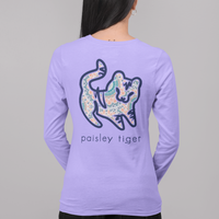Violet Mandala Long Sleeve Tee