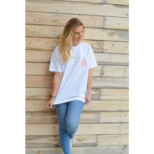 White Short Sleeve Pocket Tee