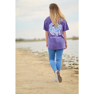 Grape Short Sleeve Pocket Tee