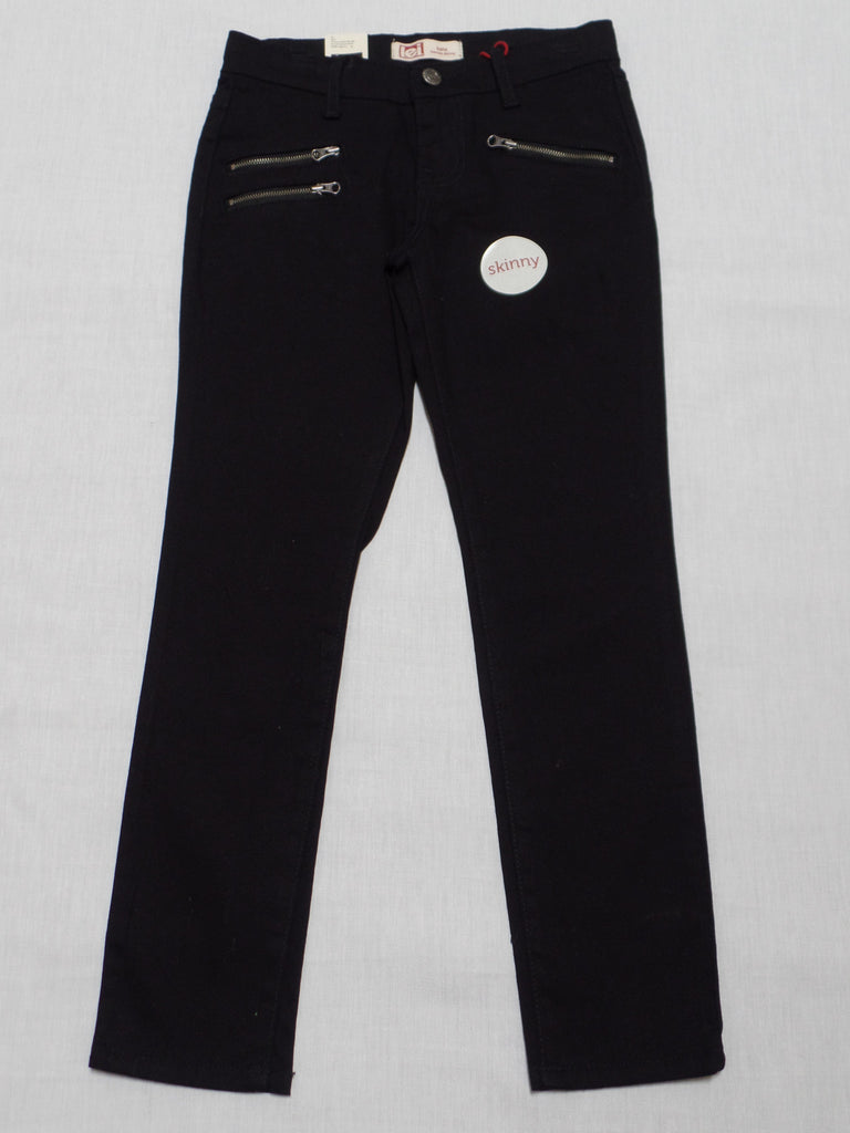 Girls L.E.I Lowrise Skinny Jeans (Long) Adj. Waist - 98% Cotton, 2% Spandex: Sizes 7,10, 12, 14