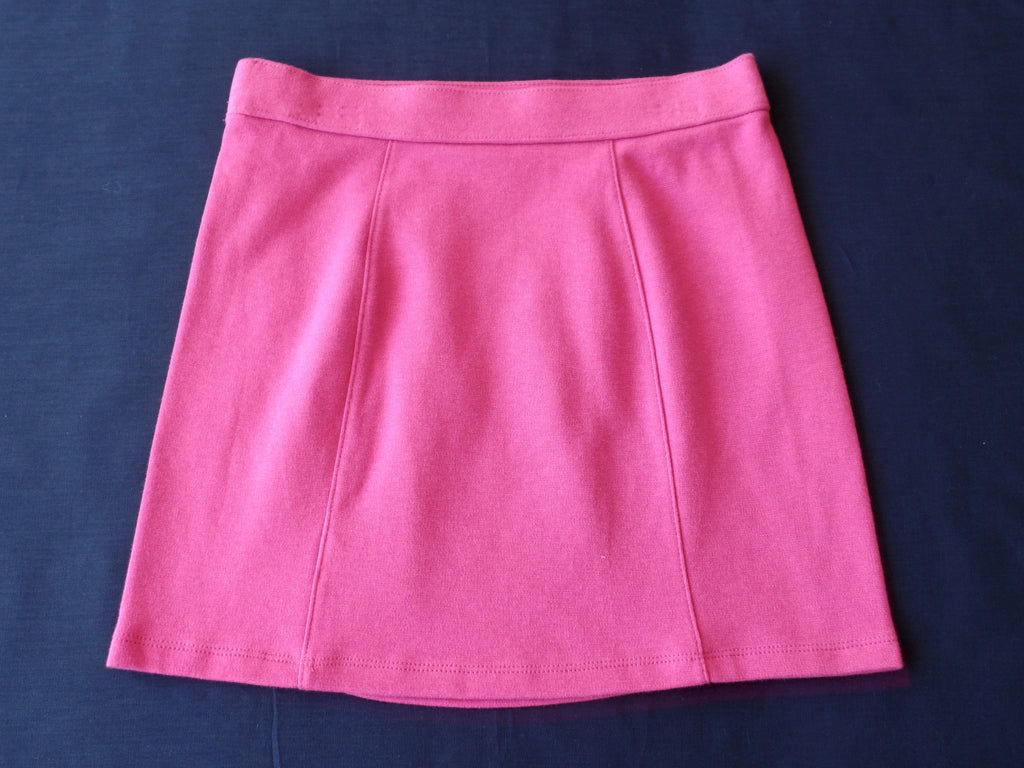 Girls FG Ponte Skirt - 85% Cotton, 15% Polyester: Sizes M, L