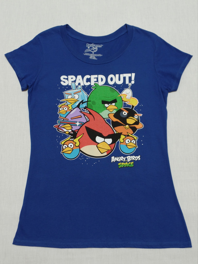Angry Birds Space T-Shirt: Size L