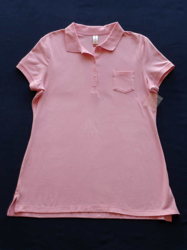 NB Polo Shirt with 1 pocket/buttons 95% Cotton 5% Spandex: Size S, M, 2XL