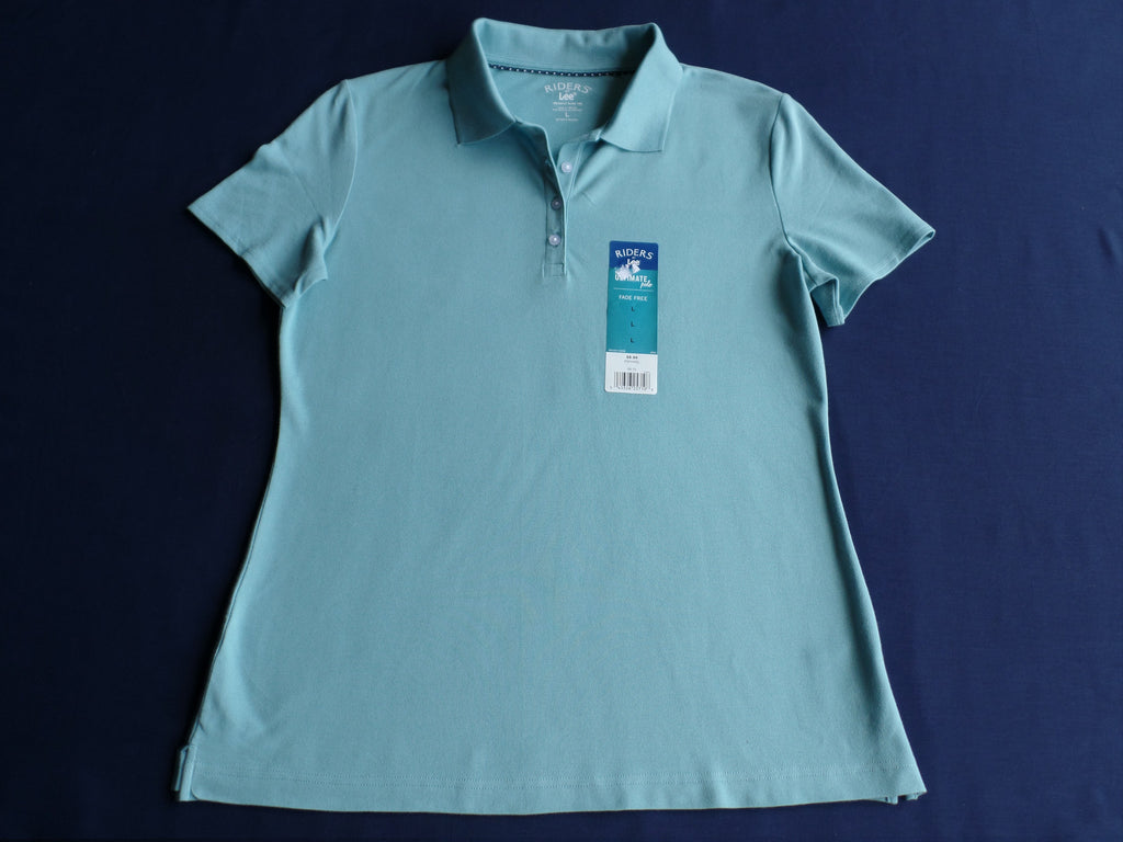 L Riders Lee Fade Free Ultimate Polo Shirt Instantly Slims You 97