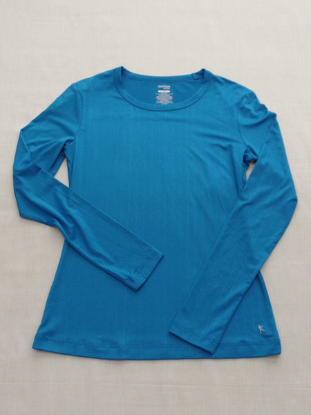 DN Performance Fitted L/S Tee 88% Polyester, 12% spandex: Size S 4-6
