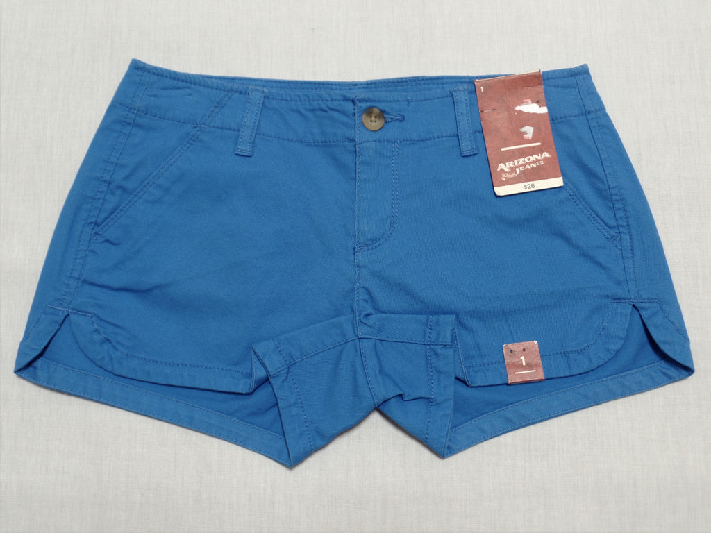 Arizona Jeans Shorts - 98% Cotton, 2% Spandex: Size 1