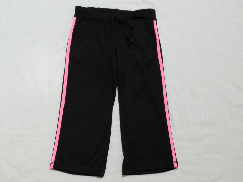 DN Mesh Capri W/Taping - Loose Fit - 100% Polyester: Size S 4-6