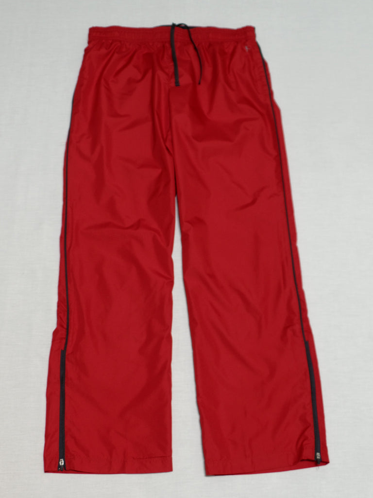 Ladies Woven Track Pant (Long) Loose Fit - 100% Polyester: L, XL, XXL