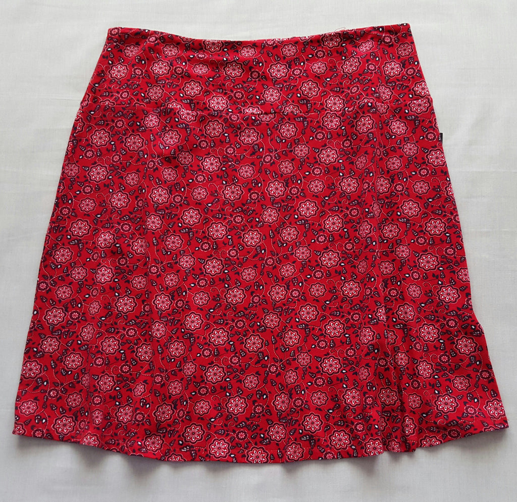 Ladies Knit Skirt - 94% Cotton, 6% Spandex: Sizes S, XL
