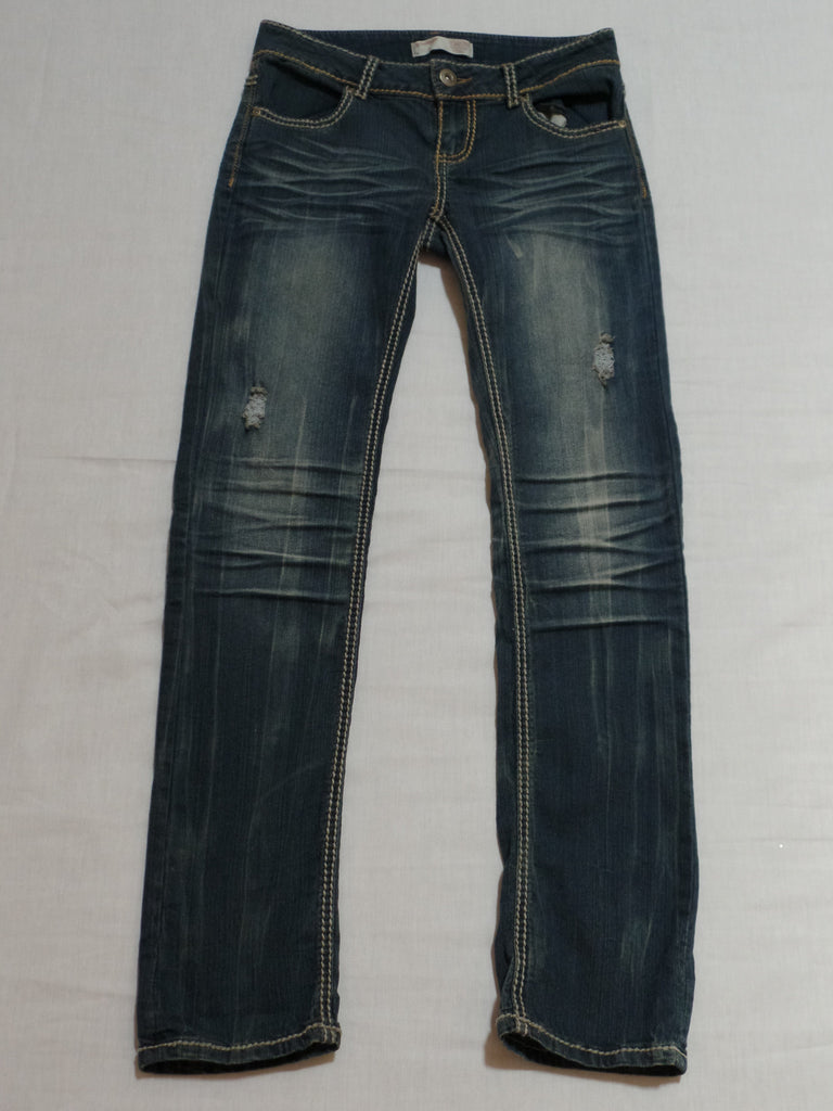 NB Skinny Jeans Long - 84% Cotton 15% Polyester, 1% Spandex: Size 7