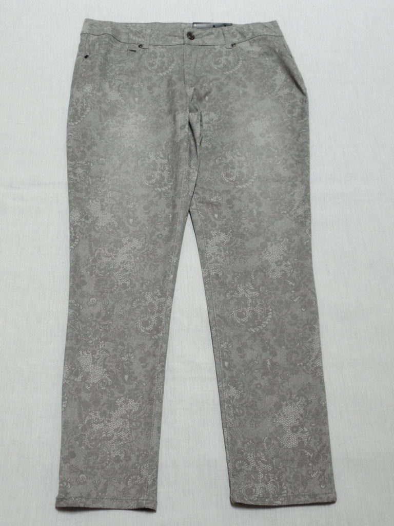 FG Lace Print Long Pants: Size 14