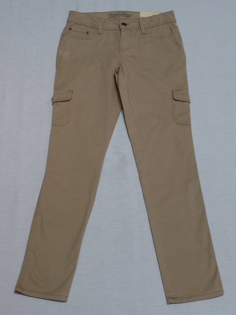 FG Skinny Cargo Pants - 98% Cotton, 2% Spandex: Size 6