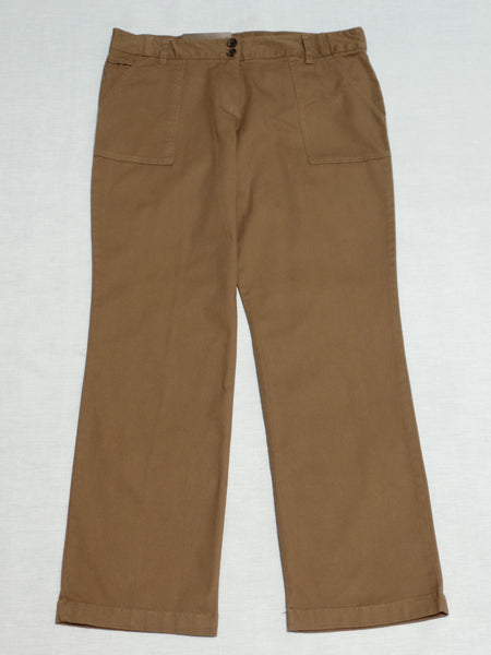 Comfort Fit Pork Chop Pocket Pant (Average) 98% Cotton, 2% Spandex: Size 6P