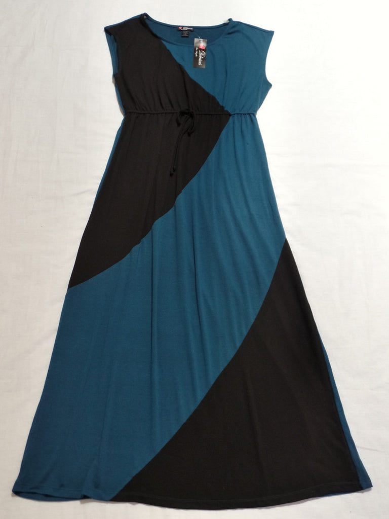Delirious Los Angeles Maxi Dress - 67% Polyester, 29% Rayon, 4% Spandex: Size 2X