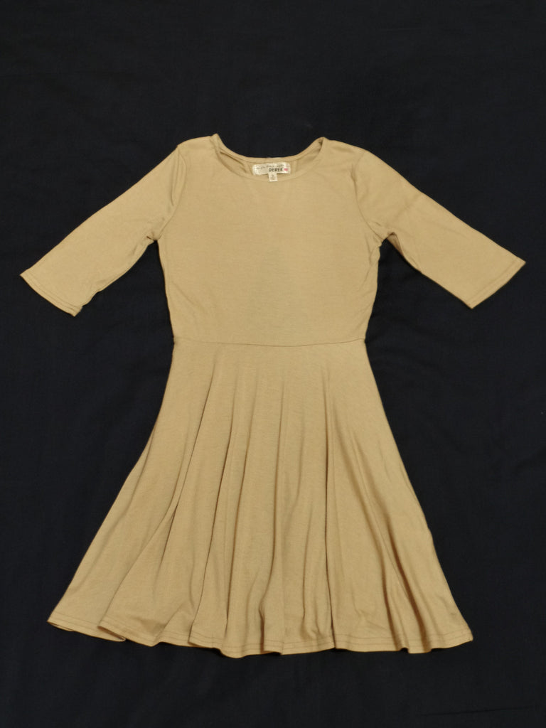 Derek Junior Dress - 70% Polyester, 26% Rayon, 4% Spandex: Size S